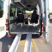 Transfer da e per Pisa - Sprinter Mercedes - accesso carrozzina